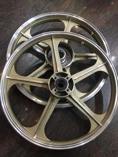 KRISS II Rim GTO(Front 140x17//Rear 160x17) SET
