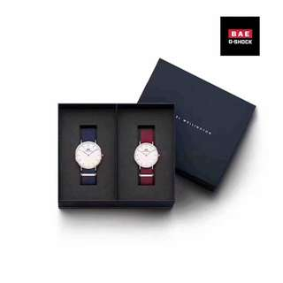 Daniel Wellington Couple Watch Box Set🌹