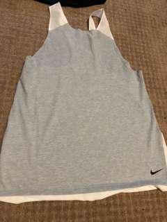 Gray Nike top