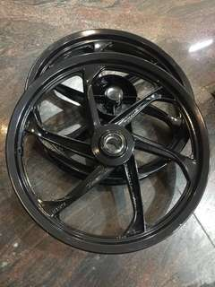 LC135 Rim(Front 185x17//Rear 215x17) SET Black