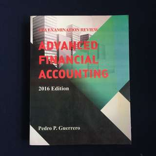 Advance Financial Accounting by Guerrero Reviewer
