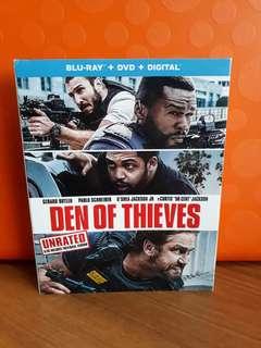 USA Blu Ray Slipcase - Den of Thieves