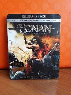 USA Blu Ray Slipcase - Conan The Barbarian 4K