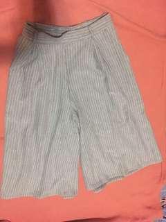 Stripes Grey Cullotes
