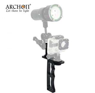 ARCHON Z09 Diving Flashlight Mount Gopro Holder underwater photography lighting auxiliary Mount Diving Light Arm
