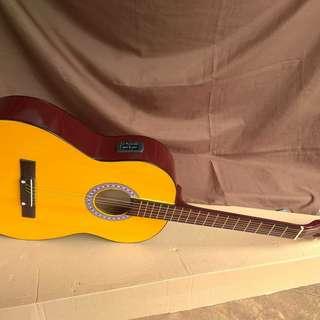 Gitar akustik elektrik pasif