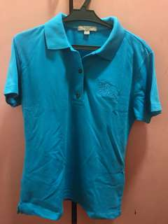 Burberry Blue Polo Shirt 👕
