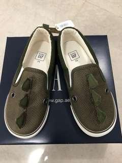Baby Gap dino slip-on sneakers
