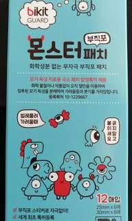 (現貨)韓國 BIKIT GURAD 怪物天然草本止癢貼(12片)