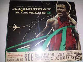 Music CD (Sealed): Various ‎– Afrobeat Airways 2 - Return Flight To Ghana 1974-1983