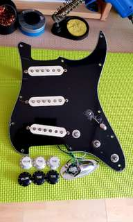David Gilmour Inspired Fender Highway One Loaded Pickguard
