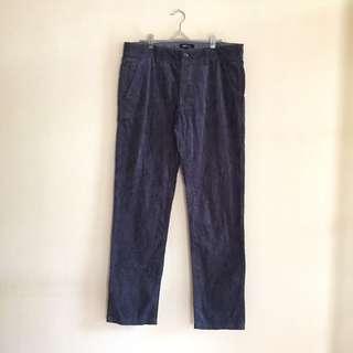 Grey pants Net men