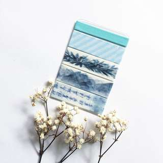 🚚 Blue Washi Sample
