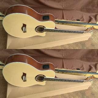 Gitar akustik elektrik tuner apx