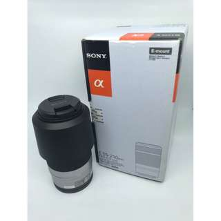 Sony SEL 55-210mm f/4.5-6.3 OSS E-Mount Lens (Silver) for Sony E-mount camera