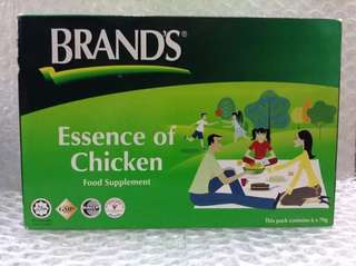Brand's Essence Of Chicken - Saripati Ayam - Food Supplement 6x70gr