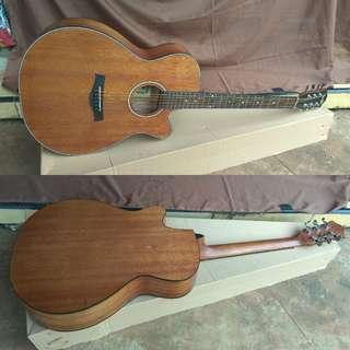 Gitar akustik Cowboy ori pabrik