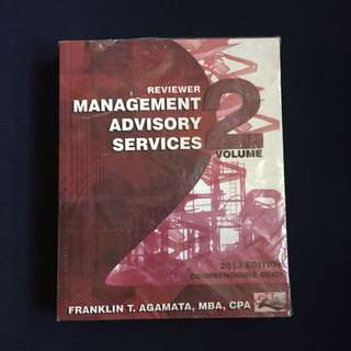Management Advisory Services by Agamata Vol 2