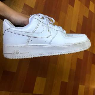 🚚 Nike air force全白