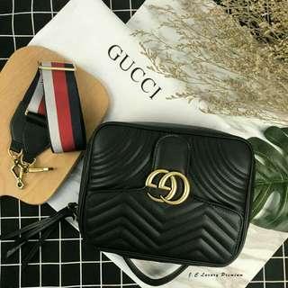 Gucci原版邮差包