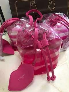 Lancôme beauty bucket pouch
