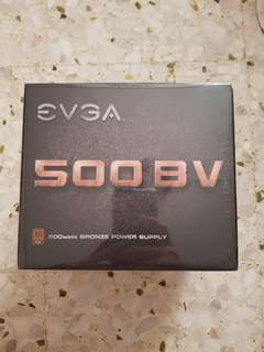 EVGA 500 BV 80 plus bronze