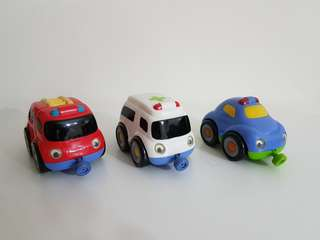 ELC Emergency Vehicle Magnetic Trio Set