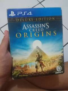 KASET ASSASSIN'S CREED ORIGINS - DELUXE PACK