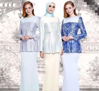 Authentic Luxury Ariani Ayda Jebat Baju Kurung