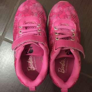 Authentic Barbie Rubber Shoes (5years old)