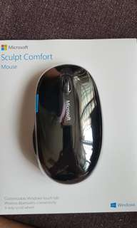 Brand New Wireless Bluetooth Microsoft Sculpt Comfort Mouse