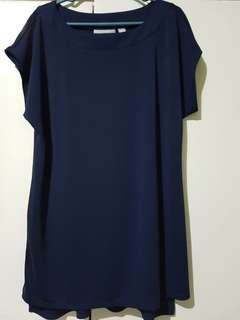 Blue stretchable blouse / maternity