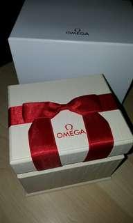 Omega手錶蝴蝶結盒