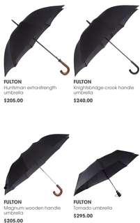 英國直送🇬🇧預訂英國皇室御用雨傘品牌 FULTON umbrella 多款