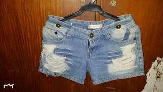 Strip Shorts Preloved