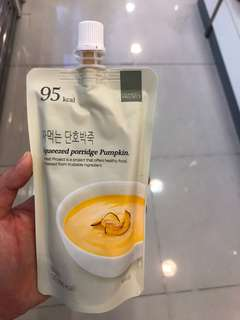 [長期代購] 韓國代購 Honest Project 南瓜/ 紅豆/ 蕃薯 粥代餐 減肥 瘦身 健康 低卡路里 Squeezed Porridge Pumpkin Red Bean Sweet Potato Low-carbs Low-calories