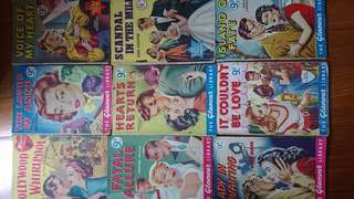 Vintage 1950s romance novels/comics $10ea