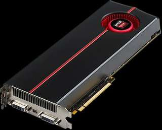 ATI HD 5970 dual core graphic card
