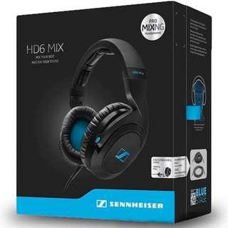Sennheiser HD6 Mix (Professional DJ headphones)