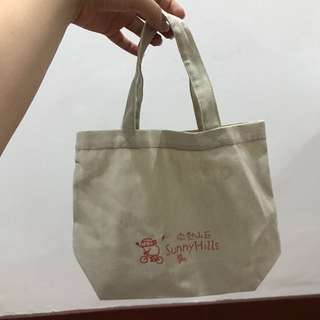 Sunny hills tote bag (small)