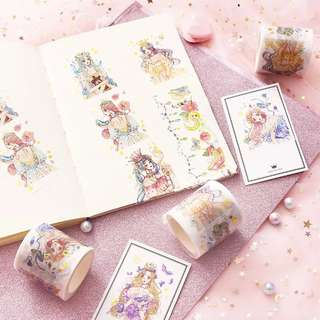 (PO) Royal Maiden Washi Tapes