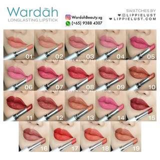 Wardah lipstick longlasting matte SALE $8 nett