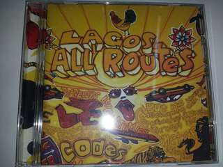 Music CD: Various–Lagos All Routes