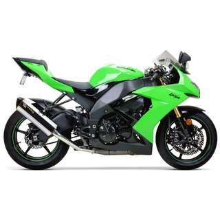 Two Brothers M2 Slip On Exhaust for Kawasaki ZX10R 2008-2010