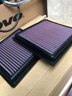 Fairlady 370Z Z34 K&N 風格 high flow air filter