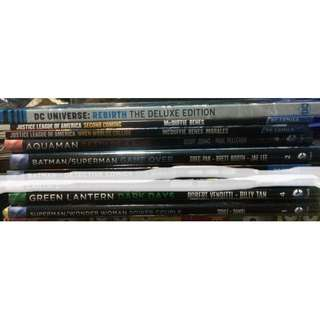 DC and Marvel Graphic Novels (TPB and HC)