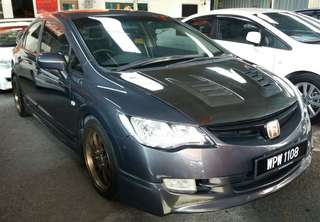 Honda civic 1.8 ivtec_rebate cash 90%