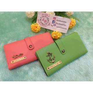 Personalized Long wallet #02