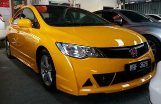 Honda Civic 1.8_ivtec(A)= Rebate cash 90%