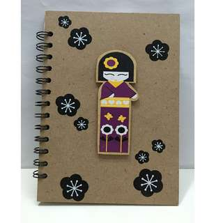Japanese Doll Notebook